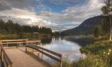 lago norvegese